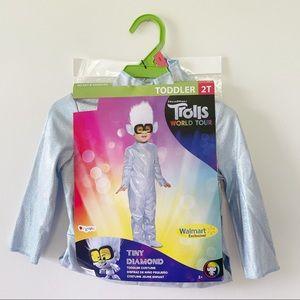 Trolls Toddler 2T Tiny Diamond Halloween Costume